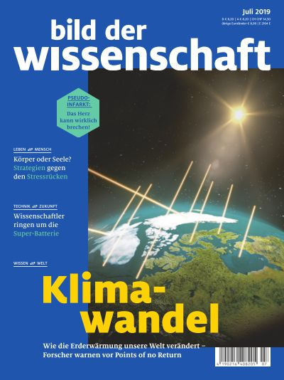 Titelbild bild der wissenschaft 7