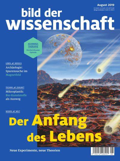 Titelbild bild der wissenschaft 8