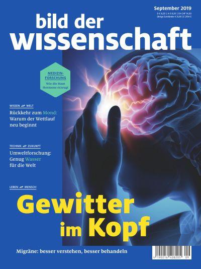 Titelbild bild der wissenschaft 9