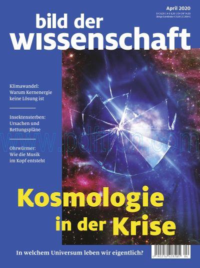 Titelbild bild der wissenschaft 4