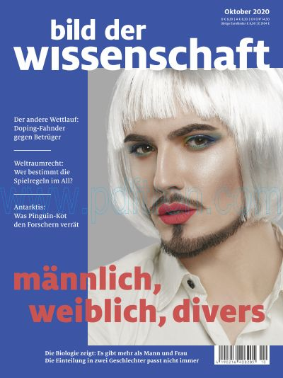 Titelbild bild der wissenschaft 10