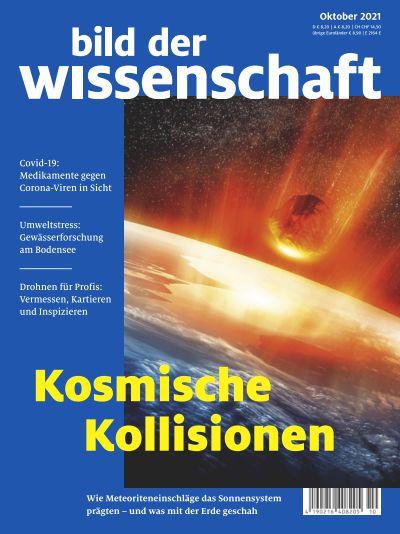 Titelbild bild der wissenschaft 10